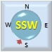 Wind from SSW